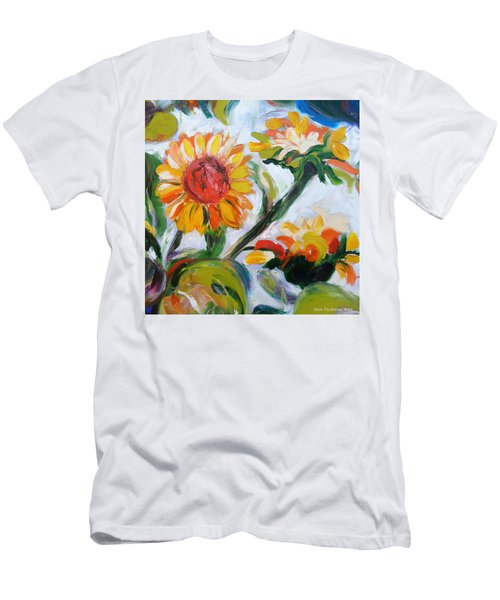 Sunflowers 5 Men's T-Shirt (Athletic Fit)