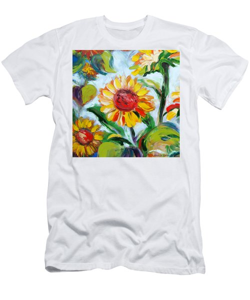 Sunflowers 6 Men's T-Shirt (Athletic Fit)