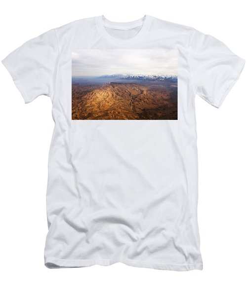 Sunlight And Snow-capped Peaks Men's T-Shirt (Athletic Fit)