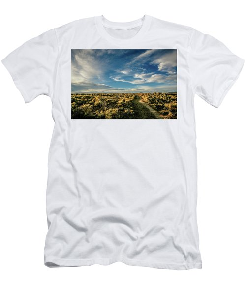 Men's T-Shirt (Athletic Fit) featuring the photograph Sunlight For Photographers by Marilyn Hunt