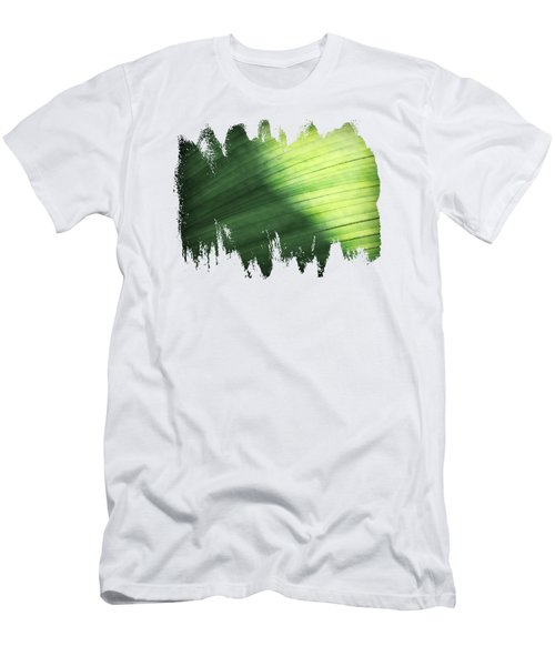 Sunlit Palm Men's T-Shirt (Slim Fit) by Anita Faye