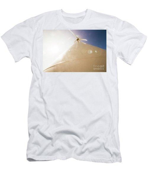 Sunlit Wind Power Men's T-Shirt (Athletic Fit)