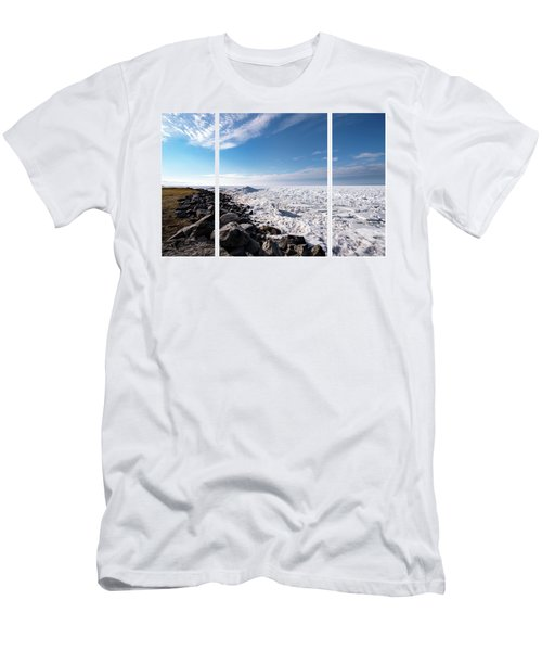 Men's T-Shirt (Athletic Fit) featuring the photograph Sunny Afternoon Combined by Onyonet  Photo Studios