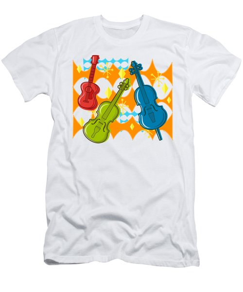 Sunny Grappelli String Jazz Trio Composition Men's T-Shirt (Athletic Fit)