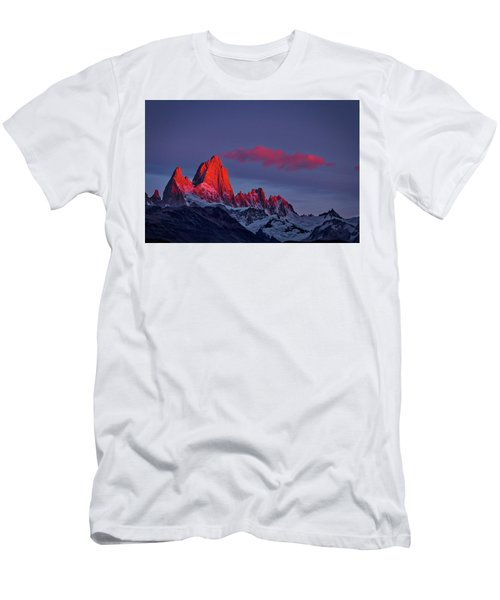 Sunrise At Fitz Roy #3 - Patagonia Men's T-Shirt (Athletic Fit)