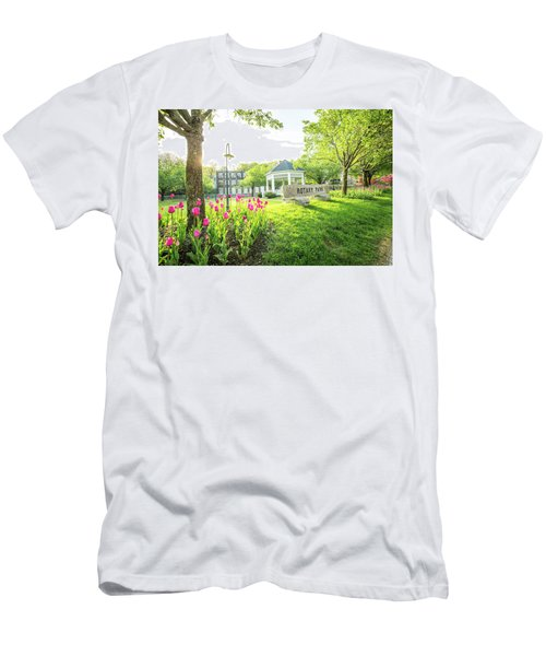 Sunrise At Rotary Park Men's T-Shirt (Athletic Fit)