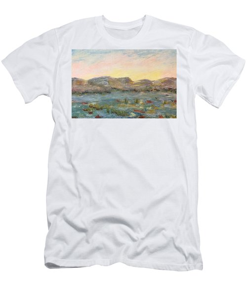 Sunrise At The Pond Men's T-Shirt (Athletic Fit)