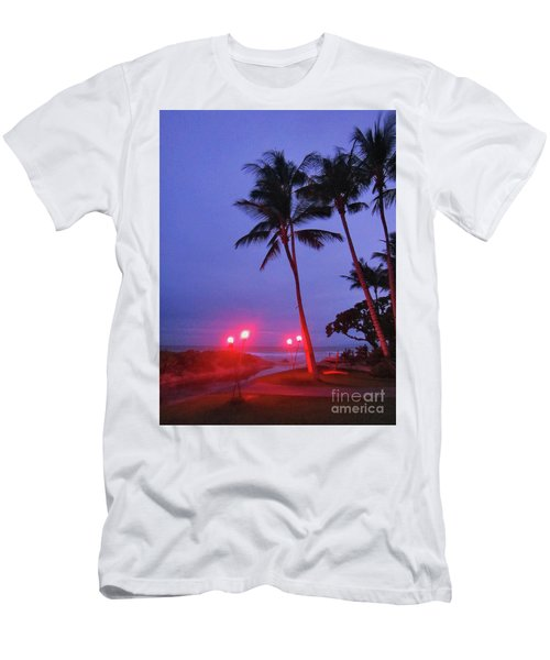 Sunrise Ocean Pathway Men's T-Shirt (Athletic Fit)