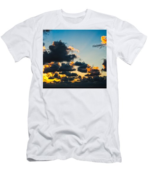 Sunrise On The Atlantic #14 Men's T-Shirt (Athletic Fit)