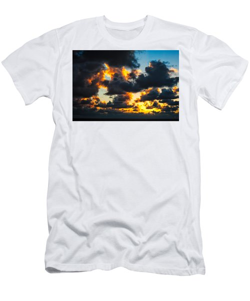 Sunrise On The Atlantic #15 Men's T-Shirt (Athletic Fit)