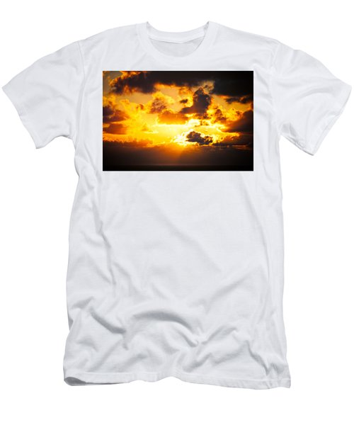 Sunrise On The Atlantic #17 Men's T-Shirt (Athletic Fit)