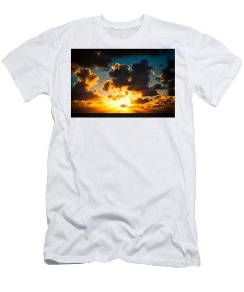 Sunrise On The Atlantic #19 Men's T-Shirt (Athletic Fit)