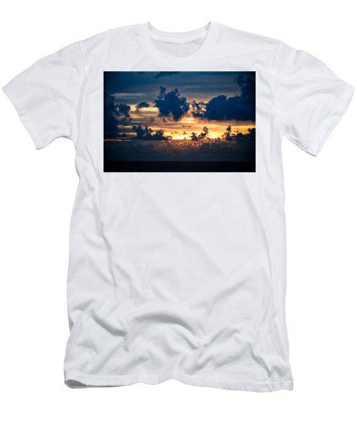 Sunrise On The Atlantic #28 Men's T-Shirt (Athletic Fit)