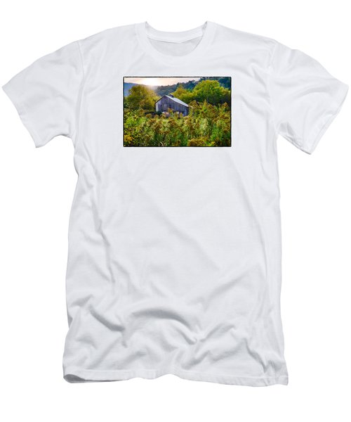 Sunrise On The Farm Men's T-Shirt (Slim Fit) by R Thomas Berner