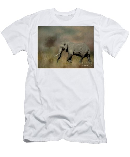 Sunrise On The Savannah Men's T-Shirt (Athletic Fit)
