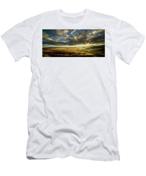 Sunrise Over The Heber Valley Men's T-Shirt (Athletic Fit)