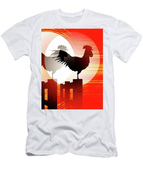 Sunrise Reflection Men's T-Shirt (Athletic Fit)