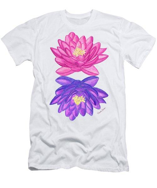 Sunrise Sunset Lotus Men's T-Shirt (Athletic Fit)