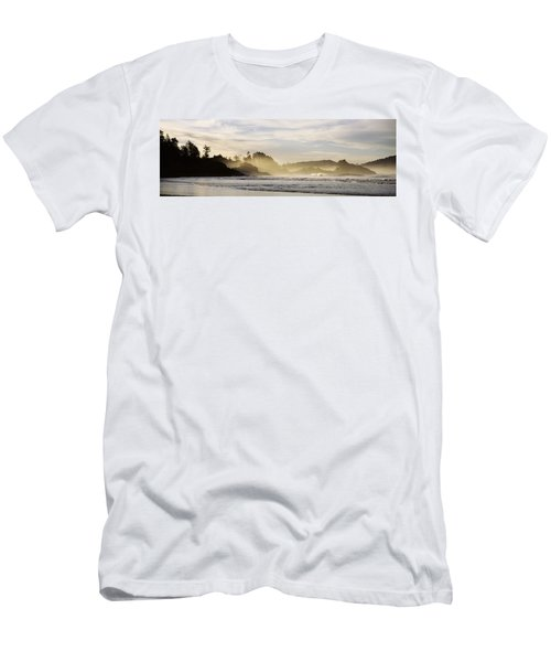 Sunrise Vancouver Island British Men's T-Shirt (Athletic Fit)
