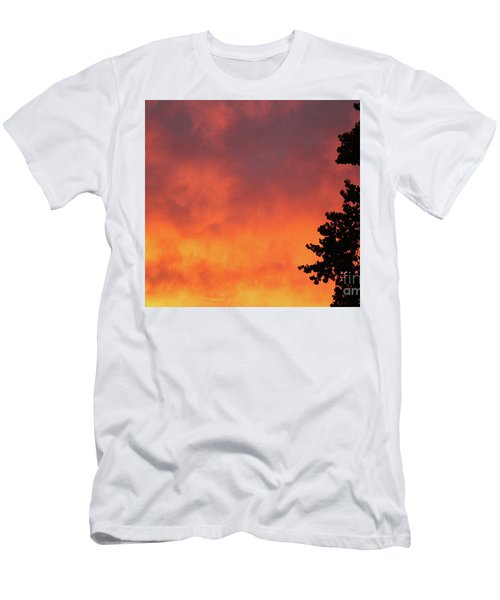 Sunset II Reno, Nevada Men's T-Shirt (Athletic Fit)