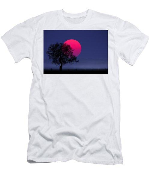 Sunset Magenta Men's T-Shirt (Athletic Fit)