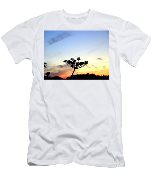 Sunset Seedhead Silhouette  Men's T-Shirt (Athletic Fit)