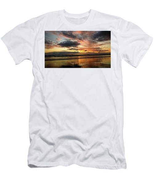 Sunset Split Men's T-Shirt (Athletic Fit)