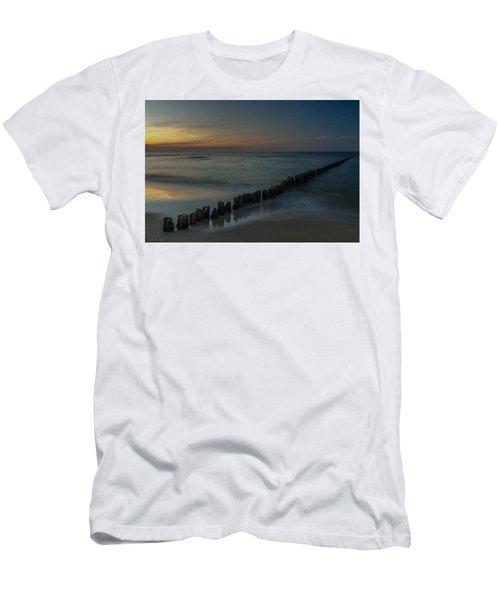 Sunset Zen Mood Seascape Men's T-Shirt (Athletic Fit)