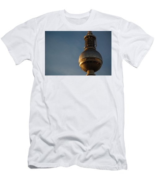 Sunseting On The Tower Men's T-Shirt (Athletic Fit)