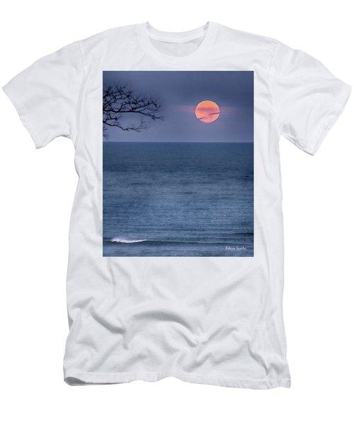 Super Moon Waning Men's T-Shirt (Athletic Fit)