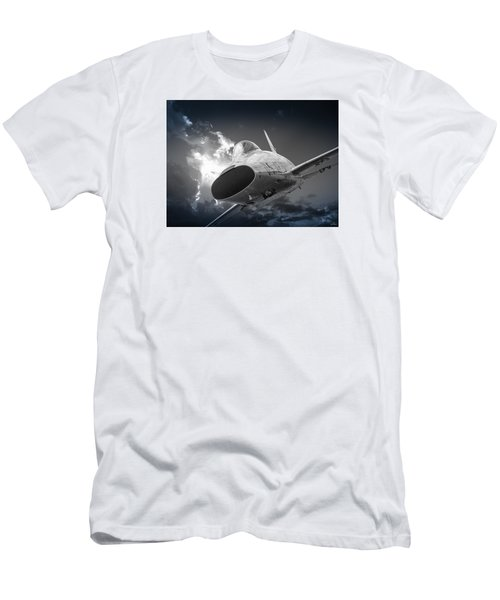 Super Sabre Rolling In On The Target Men's T-Shirt (Athletic Fit)