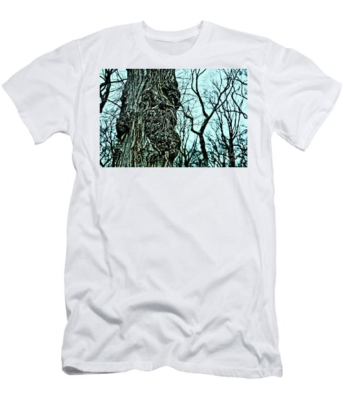 Men's T-Shirt (Slim Fit) featuring the photograph Super Tree by Sandy Moulder
