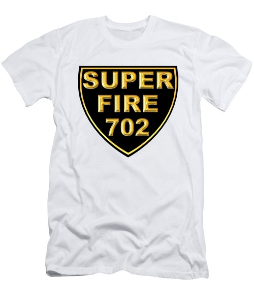 Superfire 702 Men's T-Shirt (Athletic Fit)