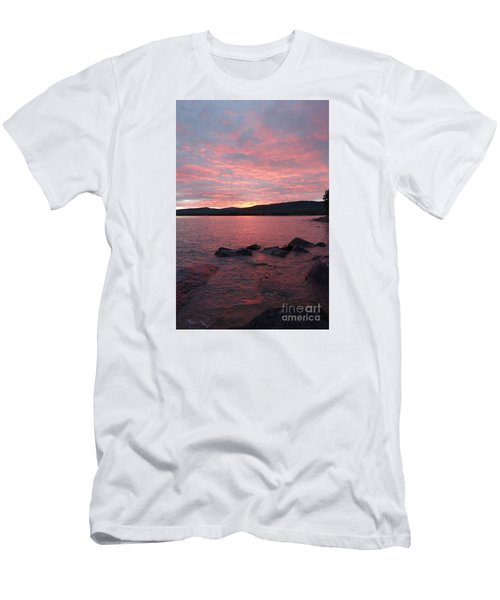 Men's T-Shirt (Slim Fit) featuring the photograph Superior Delight by Sandra Updyke