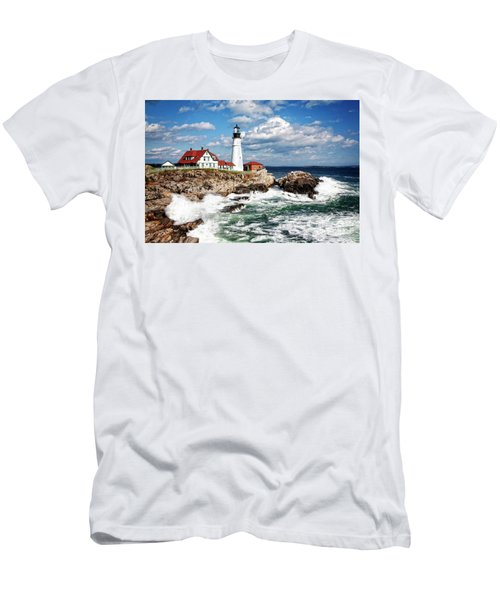 Surf Meets Land Men's T-Shirt (Athletic Fit)