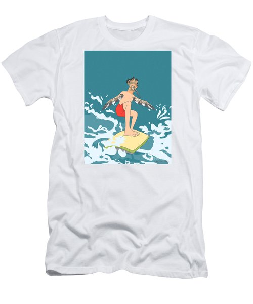 Surferbird Men's T-Shirt (Athletic Fit)