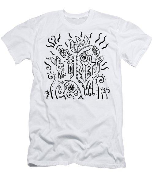 Surrealism Eyes Men's T-Shirt (Athletic Fit)