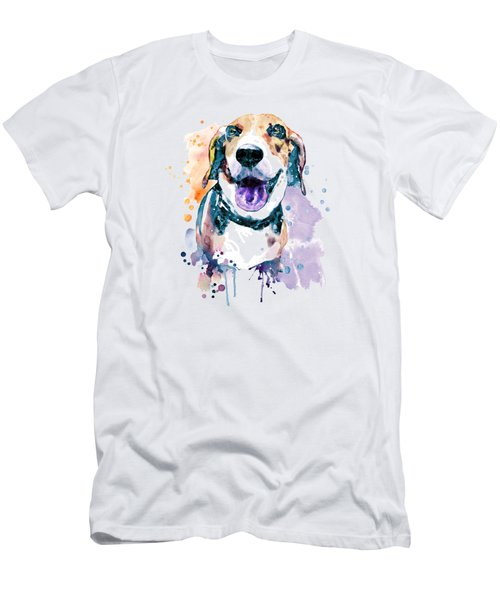 Sweet Beagle Men's T-Shirt (Athletic Fit)