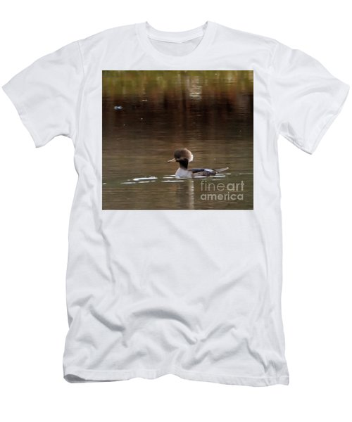 Swimming Alone Men's T-Shirt (Slim Fit) by Tamera James