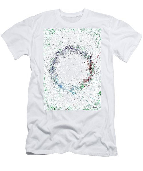 Swirling Of Life Men's T-Shirt (Athletic Fit)