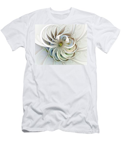 Swirling Petals Men's T-Shirt (Athletic Fit)