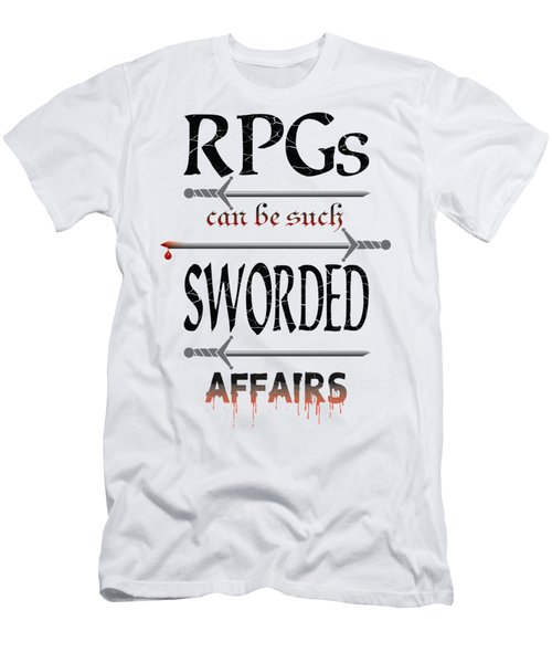 Sworded Affairs Light Men's T-Shirt (Athletic Fit)