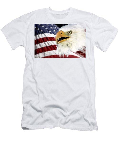 Symbol Of America Men's T-Shirt (Athletic Fit)