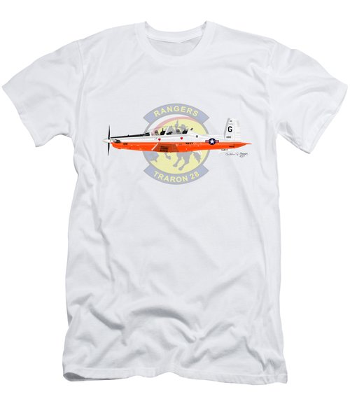 T-6b Texan II Vt28 Men's T-Shirt (Athletic Fit)