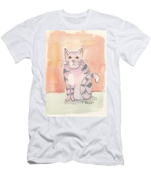Tabby Men's T-Shirt (Slim Fit) by Terry Taylor