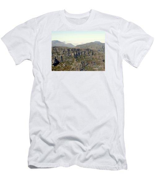 Table Rock View Men's T-Shirt (Slim Fit) by John Potts