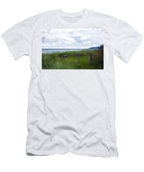 Tables By The Ocean Men's T-Shirt (Athletic Fit)