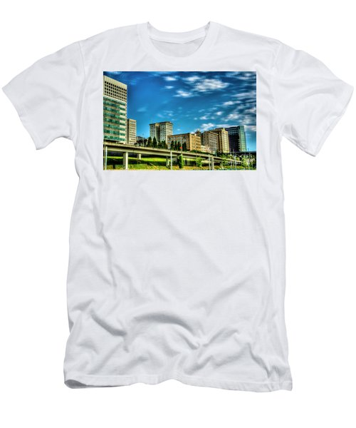 Tacoma,washington.hdr Men's T-Shirt (Athletic Fit)