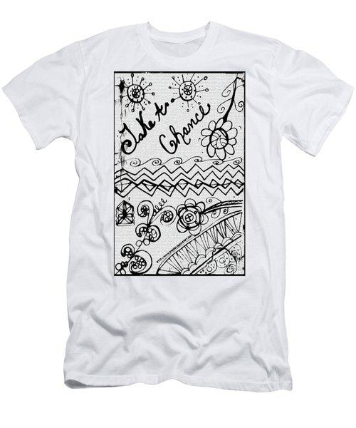 Take A Chance Men's T-Shirt (Athletic Fit)