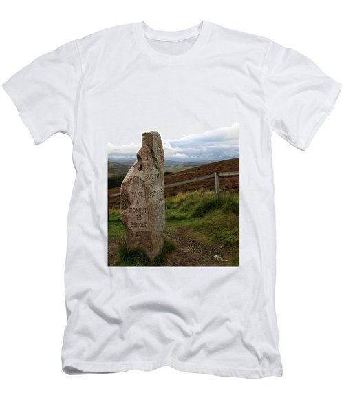 Men's T-Shirt (Athletic Fit) featuring the photograph Take A Moment by Rasma Bertz
